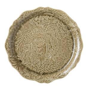 Bilde av Sthål - rundt serveringsfat / pizzafat, Sand
