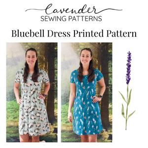 Bilde av Lavender Sewing Patterns - Bluebell Dress