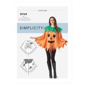 Bilde av Simplicity S9169 Kostyme poncho
