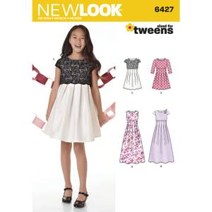 Bilde av New Look 6427 Penkjole med lengde variasjoner