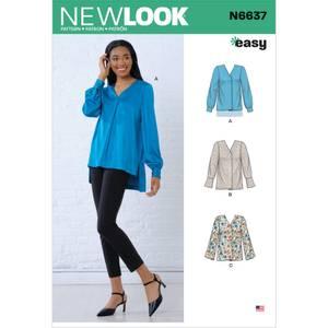 Bilde av New Look N6637 Bluse
