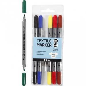 Bilde av Tekstil tusj standardfarger