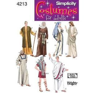 Bilde av Simplicity 4213 Kostyme mann og dame