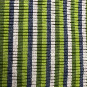Bilde av Ribb grovstrikket multi grå/grønn