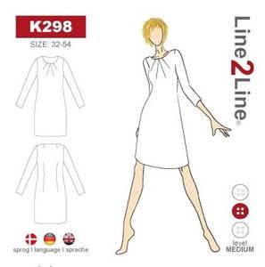Bilde av Line2Line K298 Kjole med folder