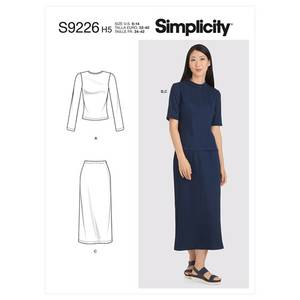 Bilde av Simplicity S9226 Overdel og skjørt