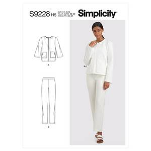Bilde av Simplicity S9228 Jakke og bukse