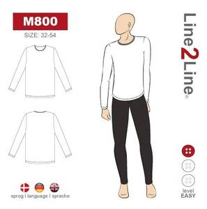 Bilde av Line2Line M800 T-skjorte til mann