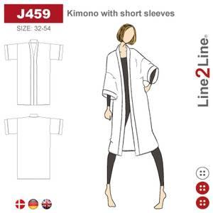 Bilde av Line2Line J459 Kimono med korte ermer