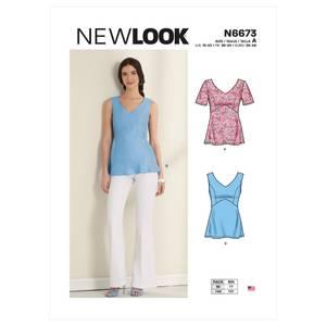 Bilde av New Look N6673 Topp