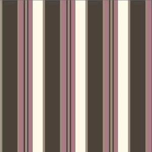 Bilde av Crepe Viscose striper rosa, lys og brun